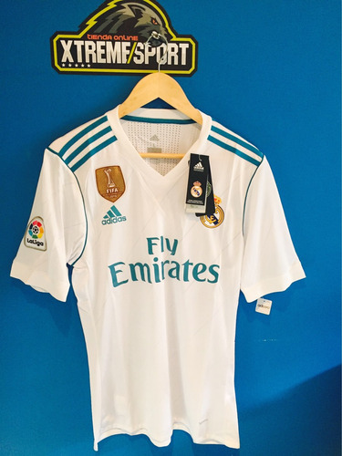 camiseta oficial real madrid 17/18 talla s m l xl preguntar