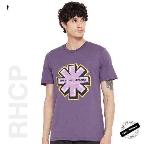 camiseta oficial rhcp graffiti asterisk tour 2019