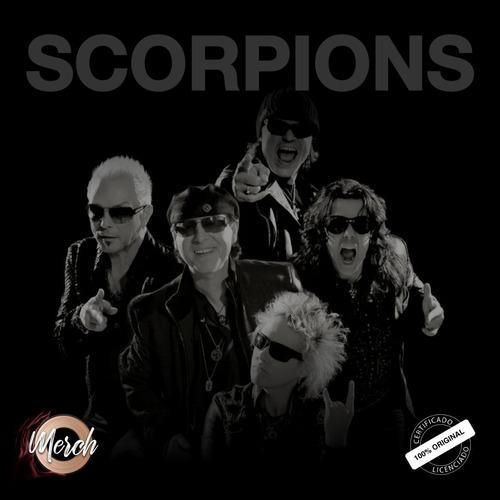 camiseta oficial scorpions crazy world tour 2019