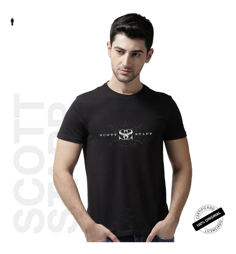 camiseta oficial scott stapp the space between the shadows