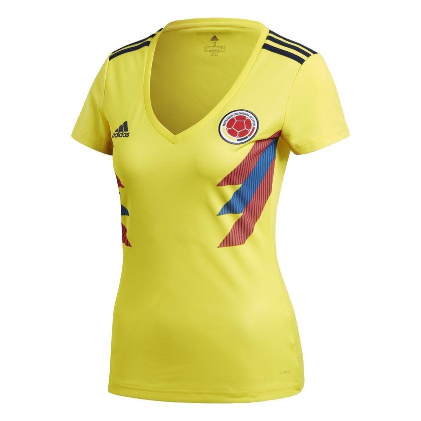 Camiseta Oficial Selección Colombia Mujer adidas + Cupón