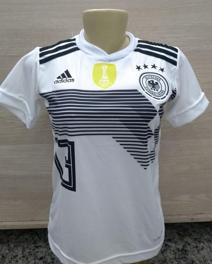 ... camiseta oficial seleção alemanha feminino copa 2018. Carregando zoom.  d5e7fc22a3bd37  liquidação camisa adidas originals retrô verde ... 548b3fccb8faa