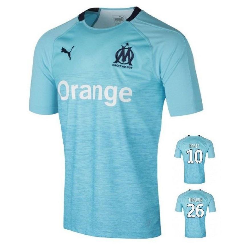58b65adba Camiseta Olympique De Marseille Oficial 18 9 - Envio Grátis - R  154 ...
