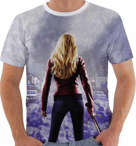 camiseta once upon a time - emma - series