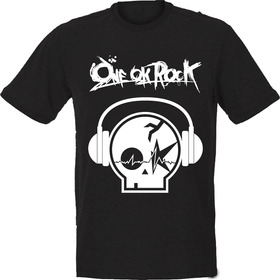 Camiseta One Ok Rock - Headphones