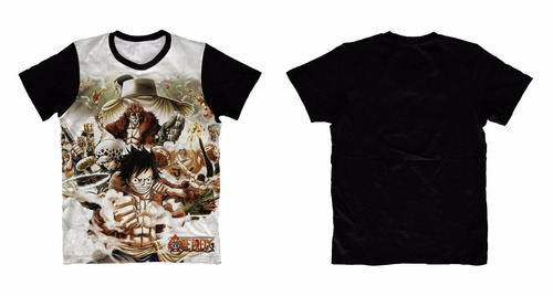camiseta one peace - camisa anime