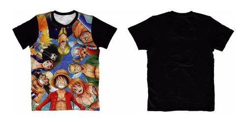 camiseta one piece - camisa anime