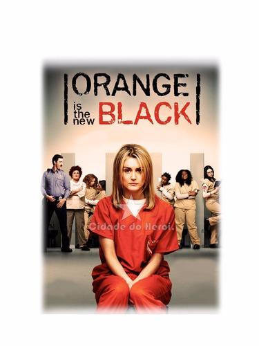 camiseta orange is the new black - revenge - cidade do herói