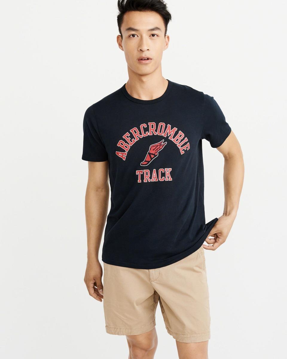 camiseta original abercrombie masculina blusa frio hollister. Carregando  zoom. 8fca84ffe3a54