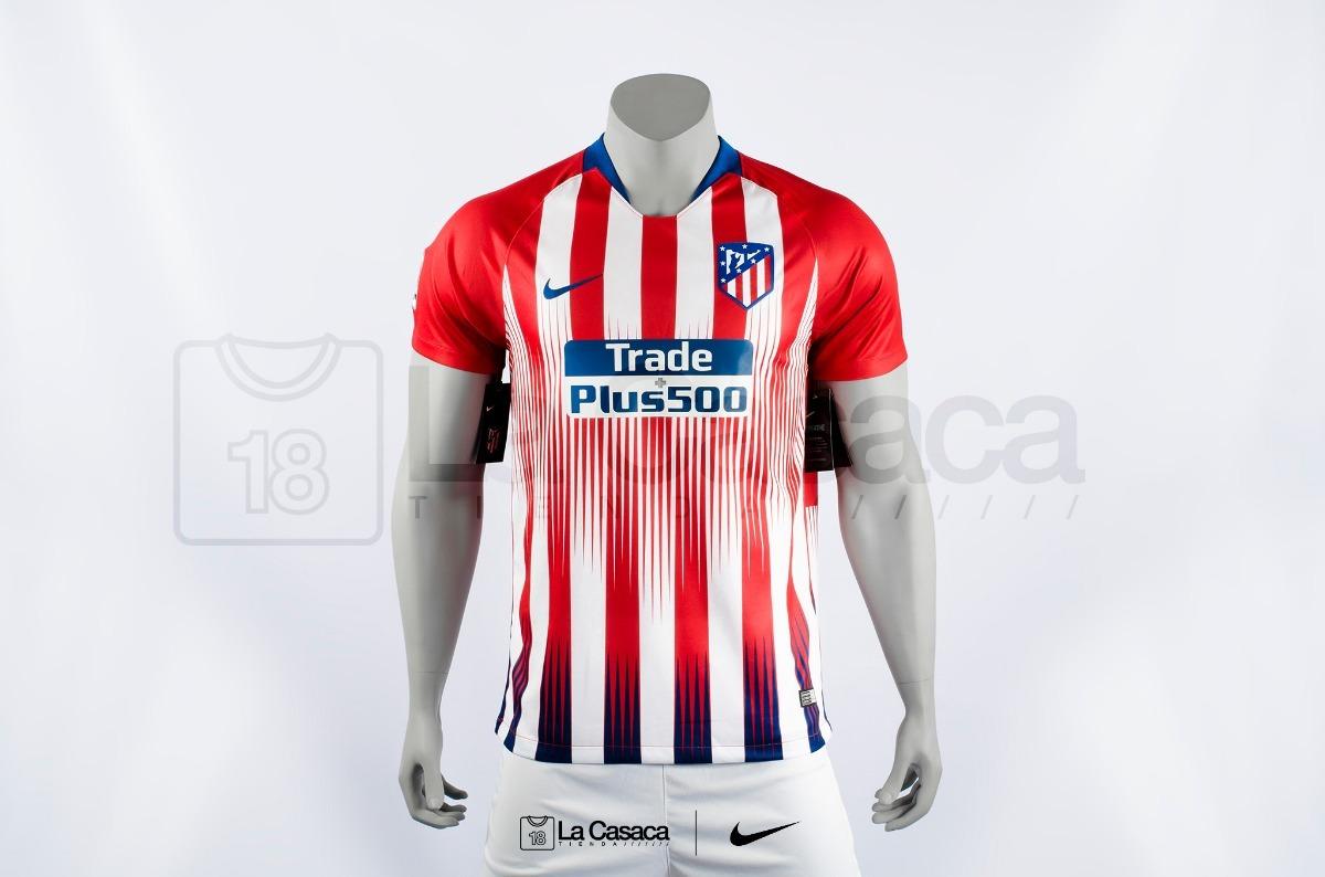 Camiseta Original Atletico De Madrid 18-19 Griezmann Arias ... 3ce1db0950792
