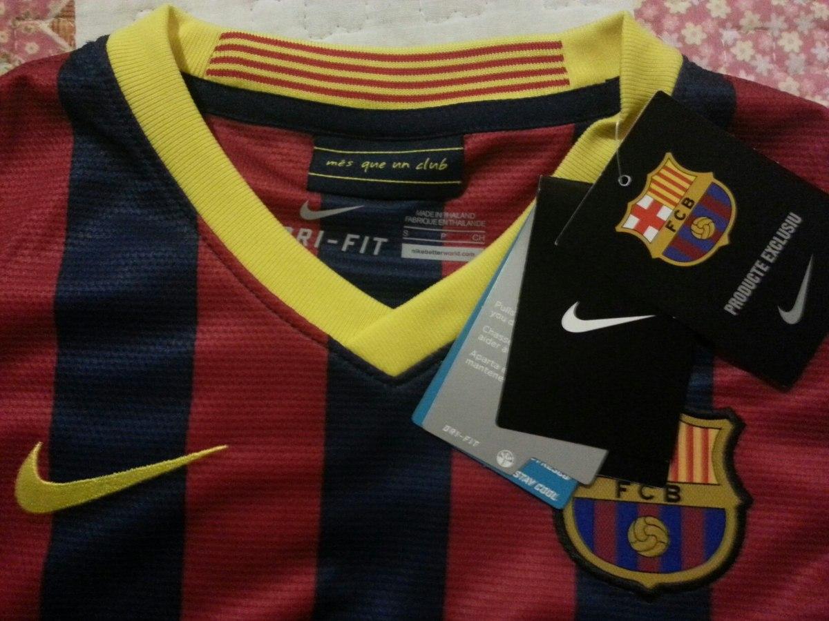 Camiseta Original Barcelona Para Niños + Envio -   60.000 en Mercado ... fbf6f3894d1