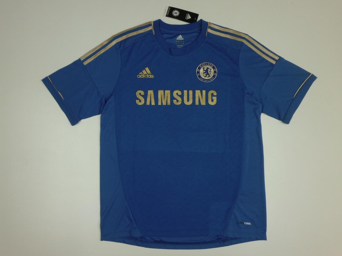camiseta original chelsea titular. 2012 -2013 adidas. Cargando zoom. b4bd8be4b89fd