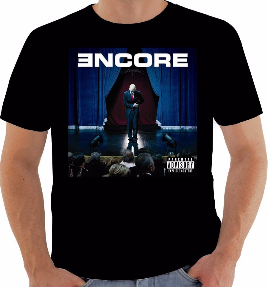 Camiseta Original Disco Eminem Encore
