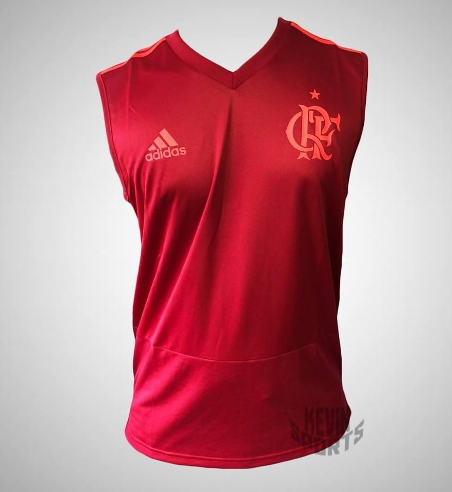 486262e4bf Carregando zoom... camiseta original flamengo adidas regata de treino 2018