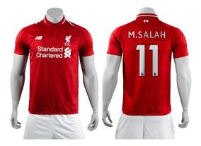 9d3970af Camiseta Liverpool Mohamed Salah en Mercado Libre Colombia