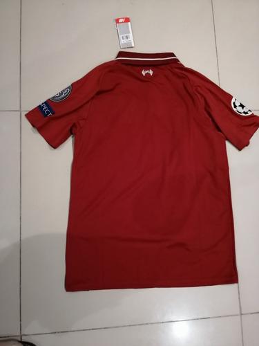 camiseta original liverpool fanático ucl talla s