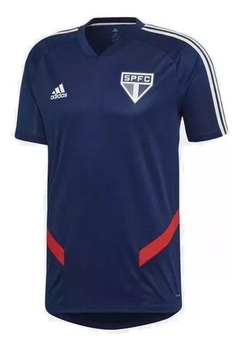 camiseta original masculina adidas sao paulo treino dz5650