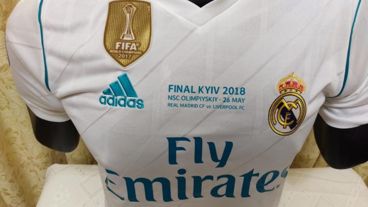 ea4f4c4b2 camiseta original real madrid final 2018. Cargando zoom.