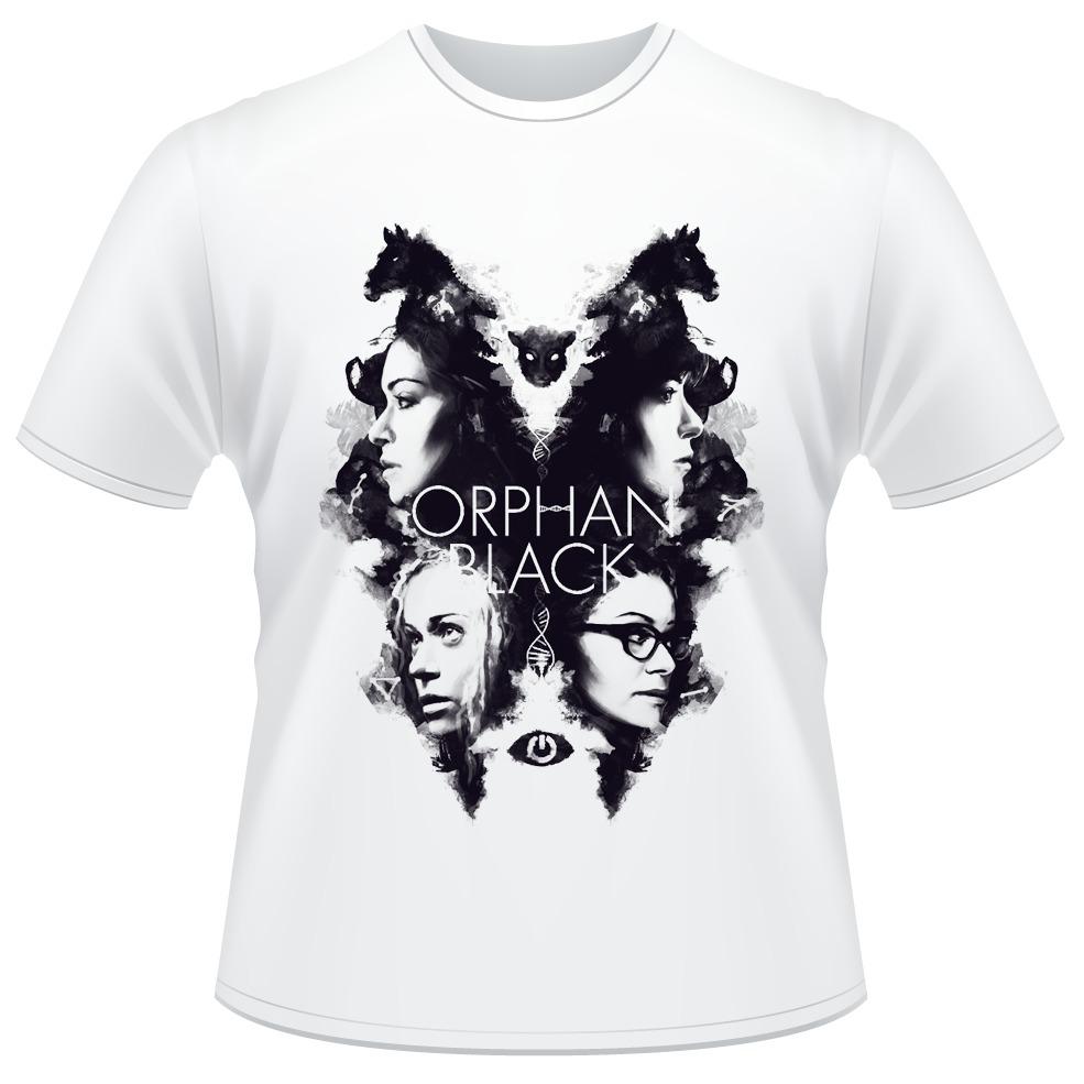 Camiseta Orphan Black Série Clone Club Camisa - R  34 ff0f7082c6bd0
