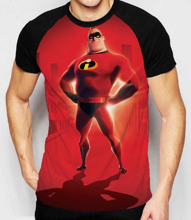 70fa04fec camiseta os incríveis animação sr. incrível camisa masculina. Carregando  zoom.