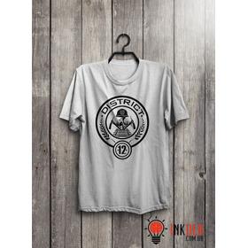 Camiseta Ou Baby Look Jogos Vorazes  - Distrito 12