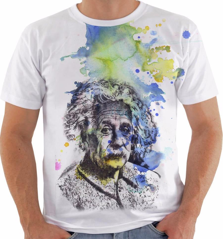 06af8a8a7 Camiseta Ou Baby Look Ou Regata Albert Einstein E mc2 Mod 7 - R  54 ...