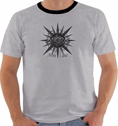camiseta ou baby look ou regata angra holy land pb