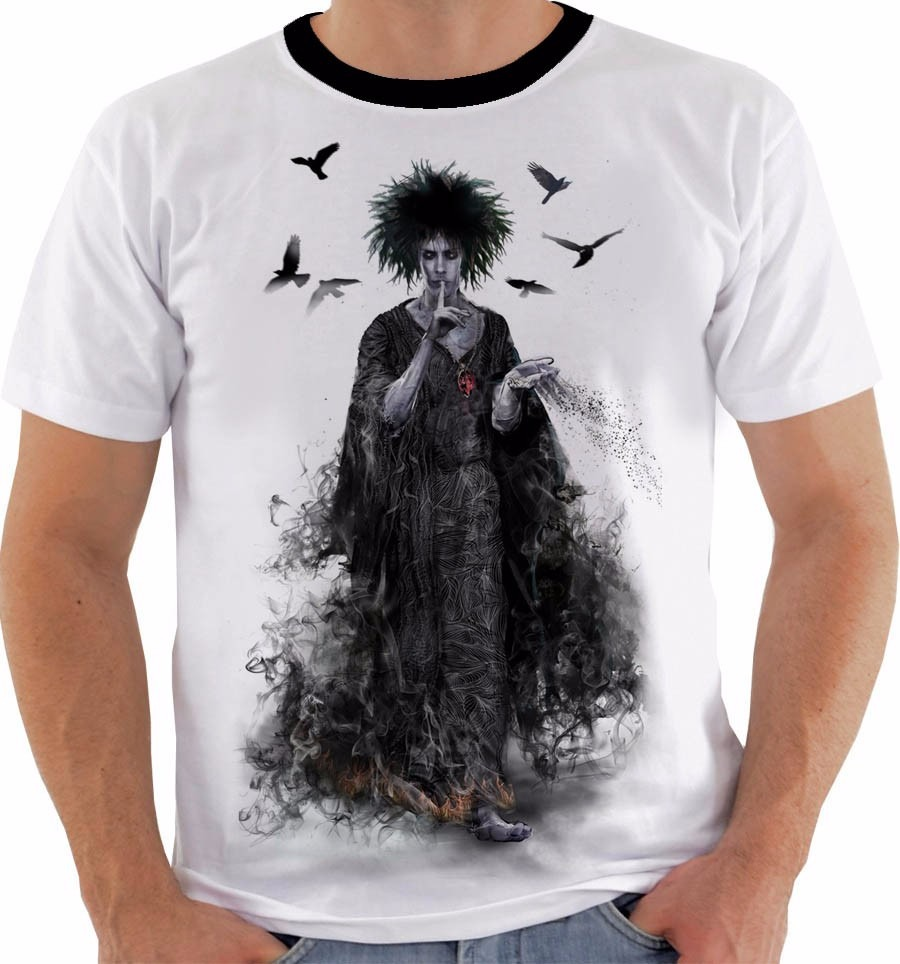 Camiseta Ou Baby Look Ou Regata Hq Sandman King Of Dreams - R  54 a16386665f6