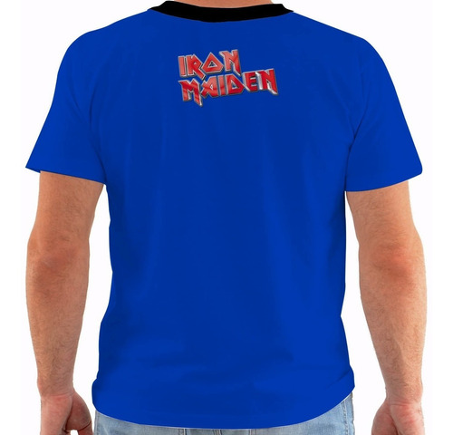 camiseta ou baby look ou regata iron maiden somewhere ny