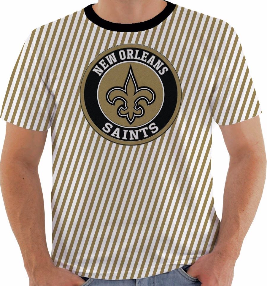 8011950fa102c camiseta ou baby look ou regata new orleans saints. Carregando zoom.