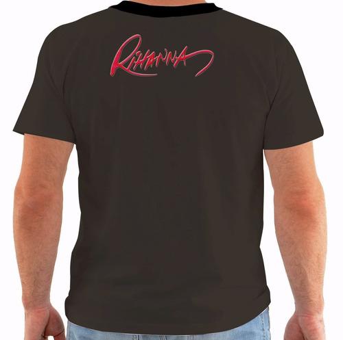 camiseta ou baby look ou regata rihanna 25