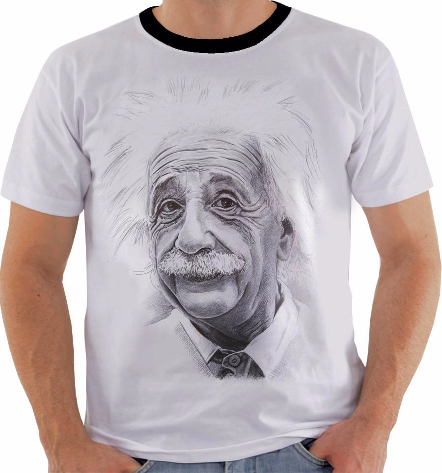 e7bcb8c50 Camiseta Ou Babylook Ou Regata Albert Einstein E   Mc2 Mod 2 - R  54 ...