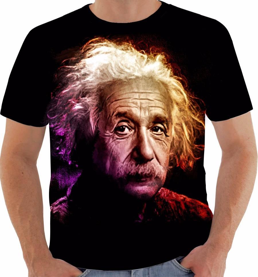 e480ff0cb Camiseta Ou Babylook Ou Regata Albert Einstein E   Mc2 Mod 3 - R  54 ...