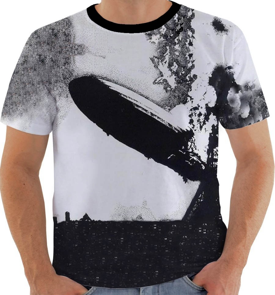 07e75afc52 Camiseta Ou Regata Ou Baby Look Led Zeppelin - Album 1 - - R  54