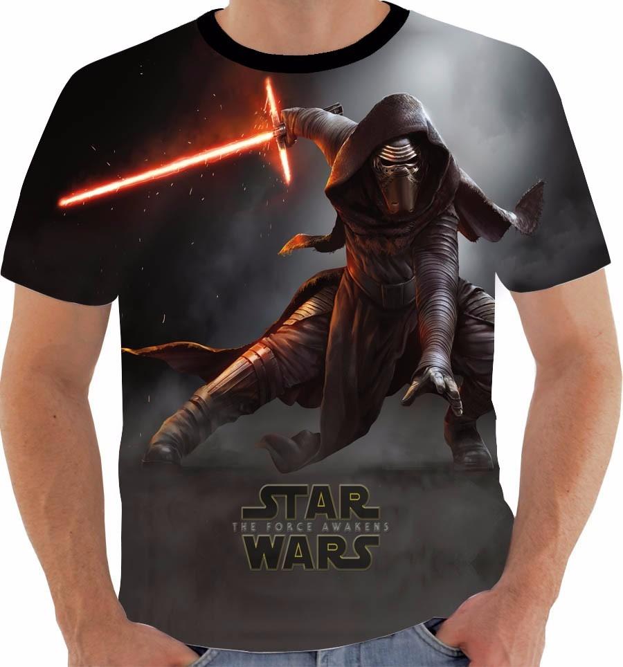 819ce3713 camiseta ou regata star wars kylo ren guerra nas estrelas. Carregando zoom.