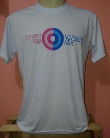 1a0a7ca9bd Camiseta Outubro Rosa Tamanho U - Camisetas Manga Curta no Mercado ...