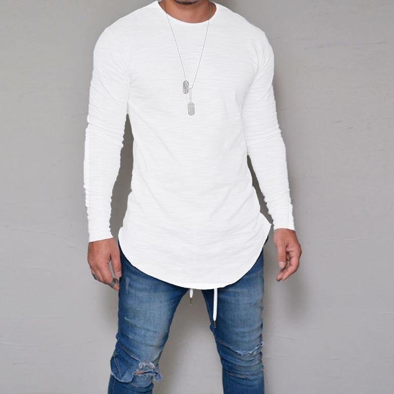 4afc41718 camiseta oversized swag longline camisa manga longa branca. Carregando zoom.