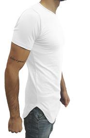 80bc99ef21 Camiseta Oversized Swag Longline Viscose Branco