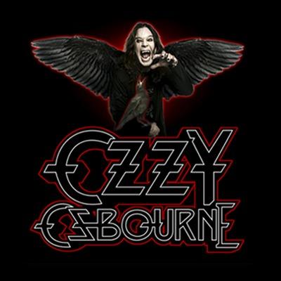 Camiseta Ozzy Osbourne Raven Wings Black Sabbath Stamp - R  41 70d9724e53922