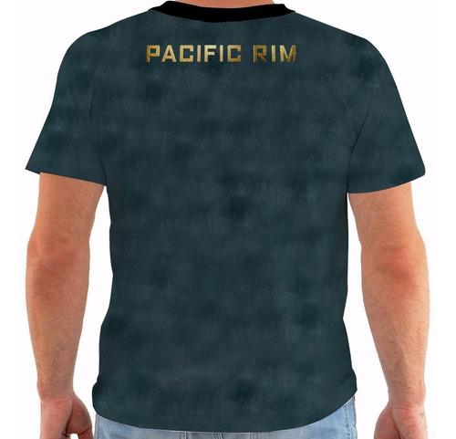 camiseta pacific rim - circulo de fogo - movies m131