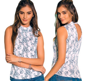 f6769397fc18 Camiseta Pacifika Cuello Alto Manga Sisa