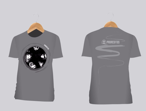 camiseta padresitos | integrantes túnel