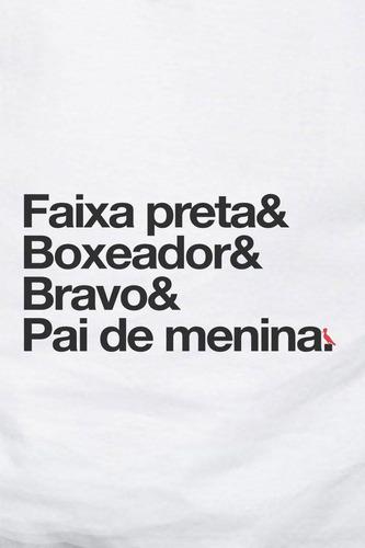 camiseta pai faixa preta reserva