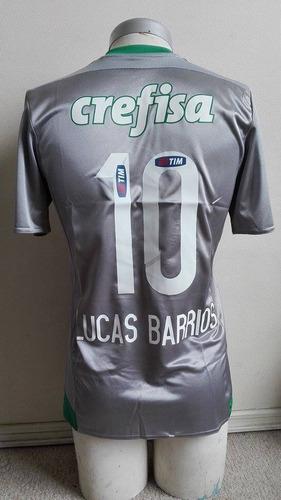 camiseta palmeiras 2016 tercera adidas n*10 lucas barrios