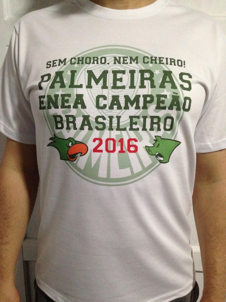 52d8858f58 camiseta palmeiras enea campeão brasileiro 2016 100% algodão. Carregando  zoom.