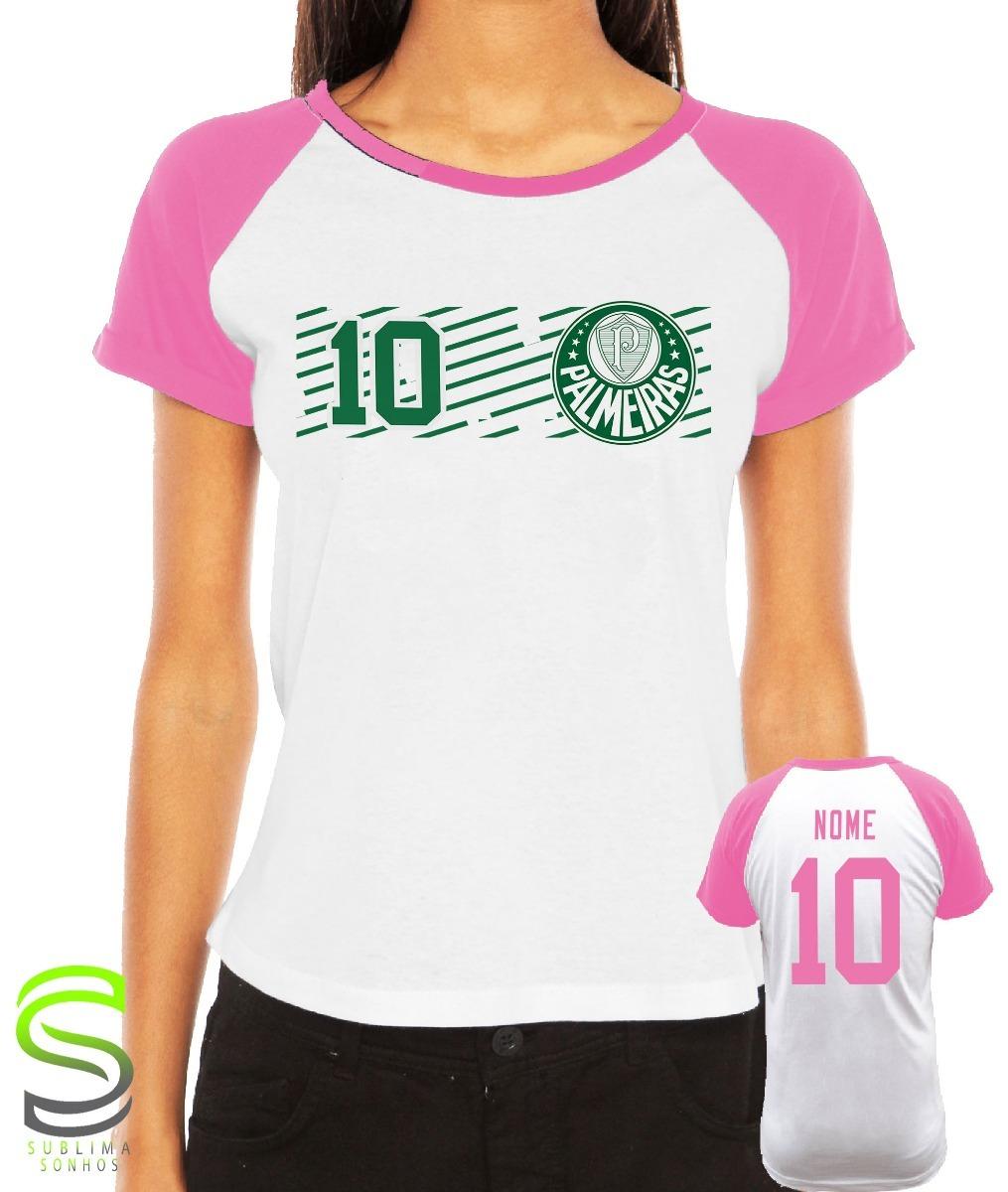 camiseta palmeiras feminia personalizada. Carregando zoom. 71251f2d97ea4