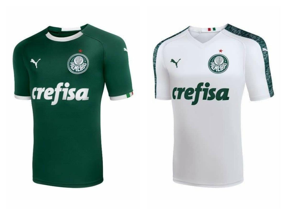 camiseta palmeiras puma kit com 2 camisetas promoção. Carregando zoom. 1b43ba332f5ca