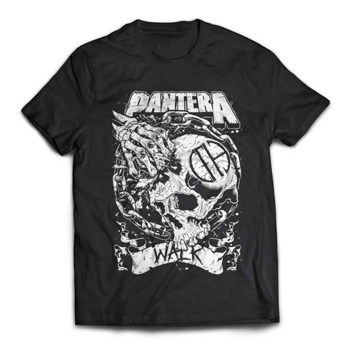 camiseta pantera walk rock activity