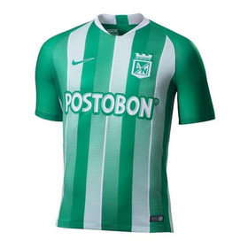 Camiseta Para Hombre Nike Atlético Nacional Stadium Jersey H