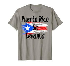 Para Hombre Se Camiseta Levanta Rico Puerto n8wk0OP